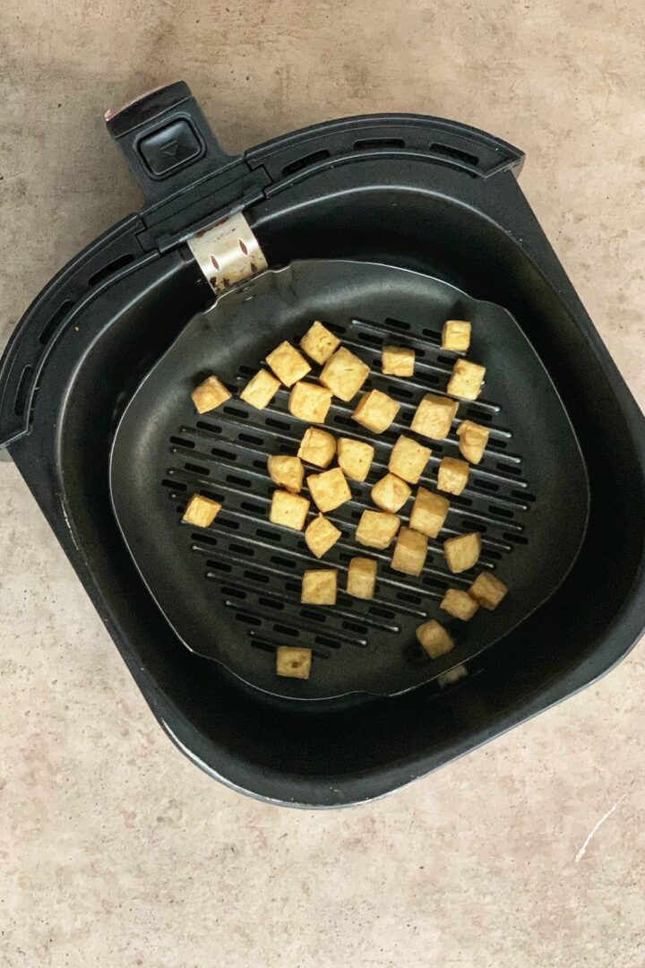 Air Fried Firm Tofu